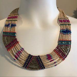 NWT Decree Bohemian Beaded necklace